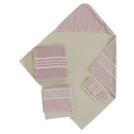 Baby Set  New Born  / Krem Sultan - Rose Pink