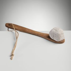 Pumice Stone Small - With Wooden Handle