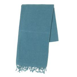 Peshtemal Stone Sultan - Petrol Blue