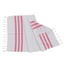 Peshkir Bala Sultan - Fucshia Stripes