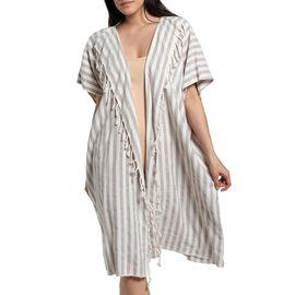 Jacket / Dress Santuri - Taupe