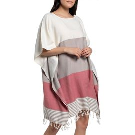 Tunic Twin Sultan - Taupe / Dusty Rose