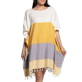Tunic Twin Sultan - Yellow / Light Grey