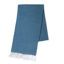 Peshtemal Cotton Sultan / Petrol Blue