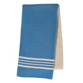 Peştemal Havlulu Sultan - Çift Yüzlü / Koyu Mavi