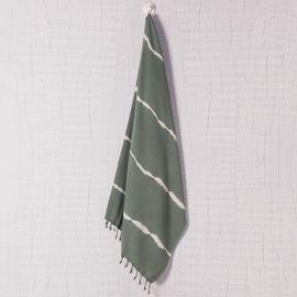 Peshtemal - Tie-Dye / Base Almond Green