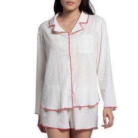 Pyjamas - Fuchsia Stitched