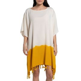 Tunic Minzi / Tie Dyed Edges Yellow