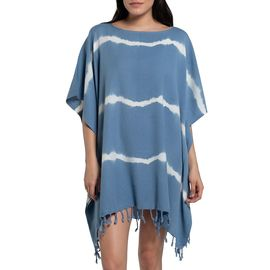 TUNIC DAISY /  TIE DYED BASE AIR BLUE