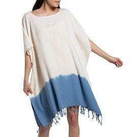Tunic Minzi / Tie Dyed Edges Air Blue