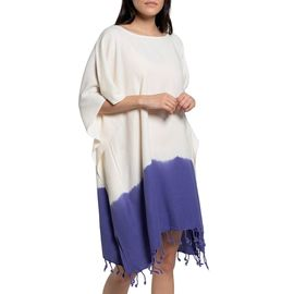 Tunic Minzi / Tie Dyed Edges Violet