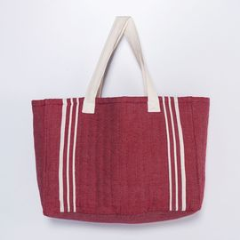 Tote Bag - Krem Sultan / Bordeaux