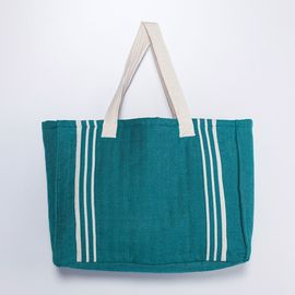 Tote Bag - Krem Sultan / Fanfare Greeen
