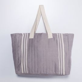Tote Bag -Krem Sultan / Light Grey