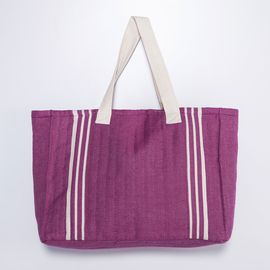 Tote Bag - Krem Sultan / Light Purple