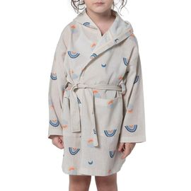 Bathrobe Kiddo  with hood / VIS - Printed