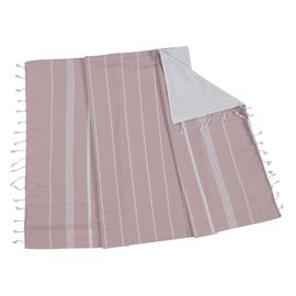TOWEL ANI  CP- DOUBLE FACE /  ROSE PINK