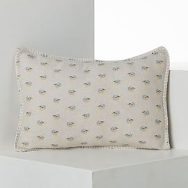CUSHION COVER / VIRGIN SKY AIR BLUE  - PRINTED FABRİC