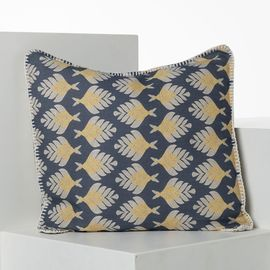 CUSHION COVER / SANTORINI SKY NAVY  (45x45)