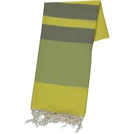 Peshtemal 54 - Yellow/Green