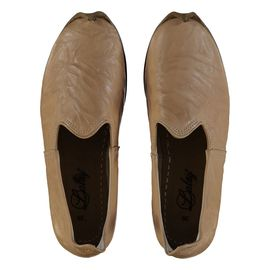 Shoe - Babouche / Leather / Handmade - Beige