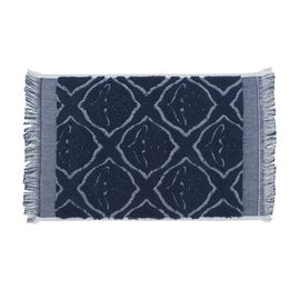 Guest Towel - Ottoman Rose / Navy