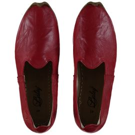Shoe - Babouche / Leather / Handmade - Red