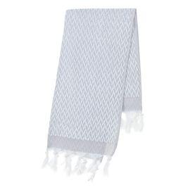 Towel Classic / ZigZag - Grey / 70 x 140 cm