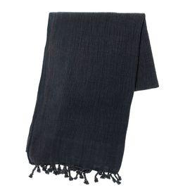 Peshtemal Stone Washed / Gofret - Black