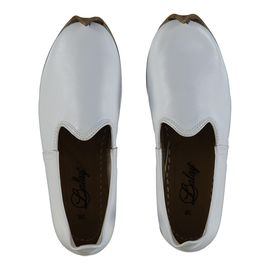 Shoe - Babouche / Leather / Handmade - White