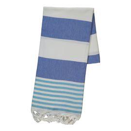 Peshtemal Ladon03 - Royal Blue / Turquoise