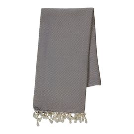 Peshtemal Dama - Light Grey