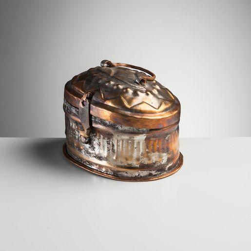 COPPER SOAP BOX 12 x 8 cm   (TRADITIONAL)