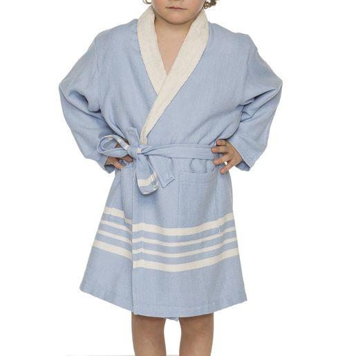 Bathrobe Kiddo Terry - Blue