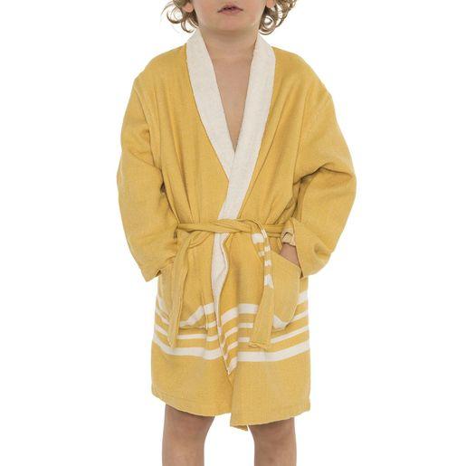 Bathrobe Kiddo Terry - Yellow