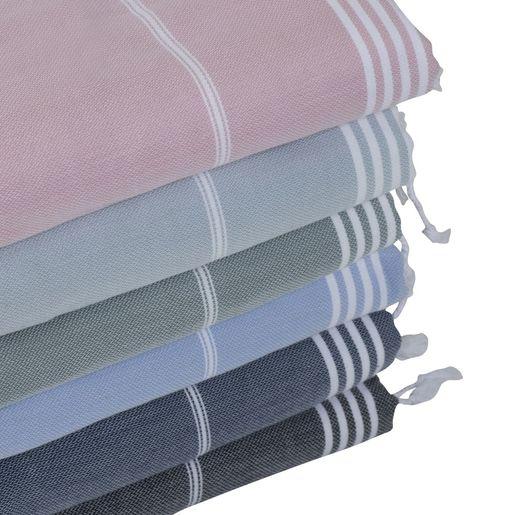 ANI - MINI DOUBLE FACE TOWEL / NAVY