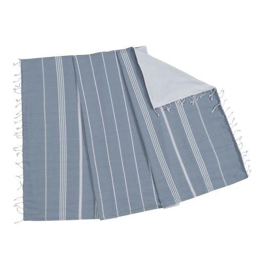 TOWEL ANI  CP- DOUBLE FACE /  AIR BLUE