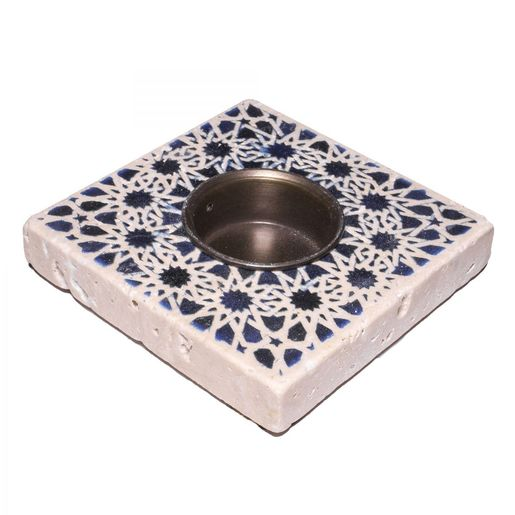 Candle Holder Lodge - Travertine 03A