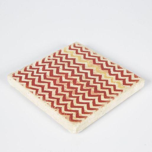 Coaster Travertine Tile D16