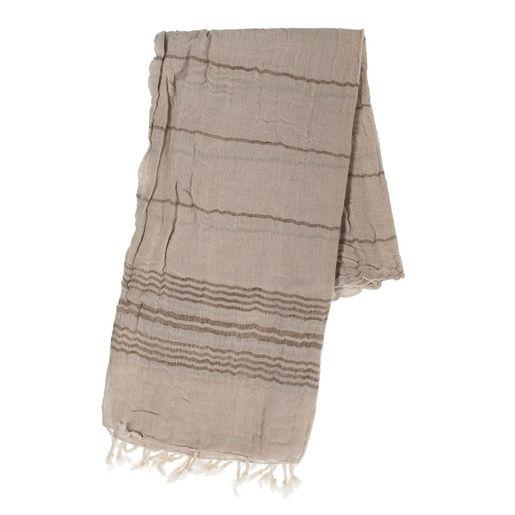 Peshtemal / Pareo  TOPRAK - Beige / Khaki Stripes
