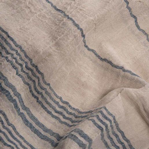 Peshtemal / Pareo  Toprak - Navy Stripes
