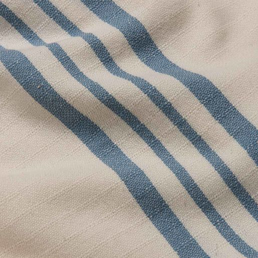 PESHTEMAL KREM SULTAN - AIR BLUE STRIPES