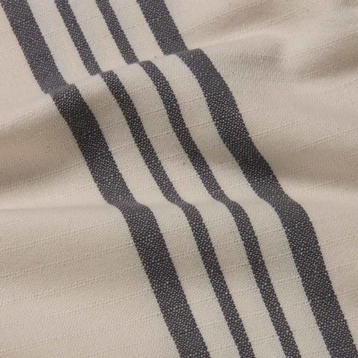 Peshtemal Sultan - Dark Grey Stripes