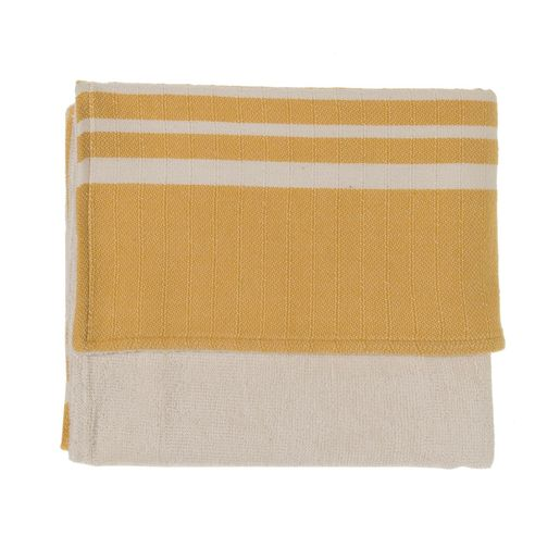 KREM SULTAN MINI TOWEL DOUBLE FACE / YELLOW