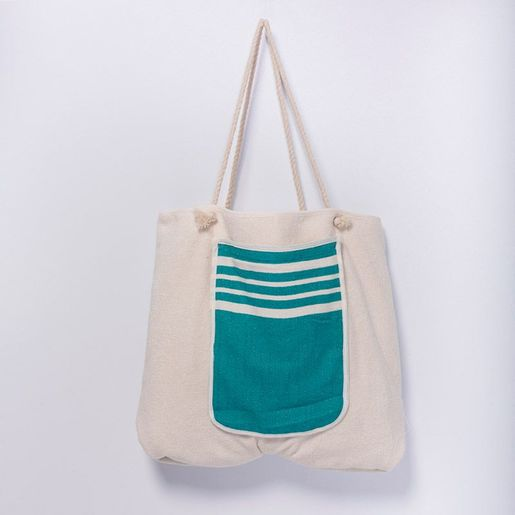 Bag / Towel Krem Sultan - Fanfare Green