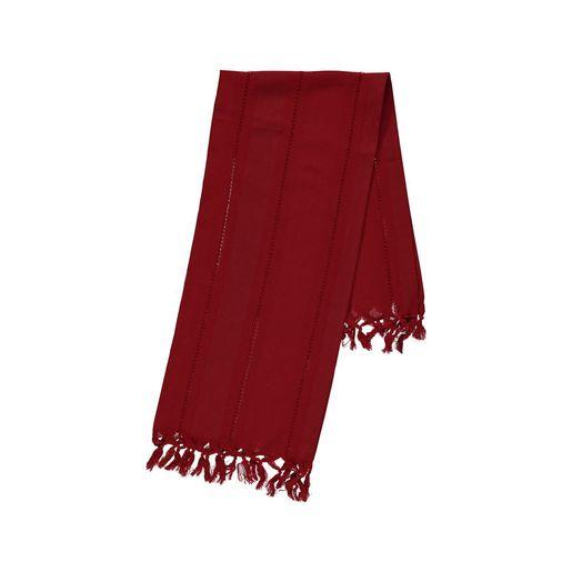 Mini Towel Hemstitched - Red