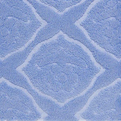 Bath Matt - Ottoman Rose / Blue