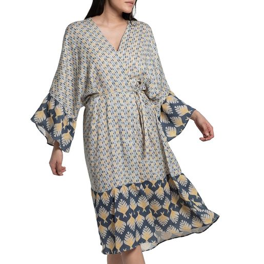 Dressing Gown / Home Wear - Santorini