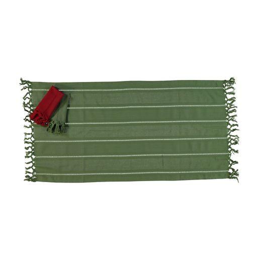 Mini Towel Hemstitched - Green