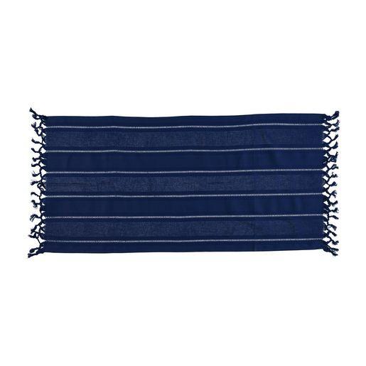 Mini Towel Hemstitched - Dark Blue